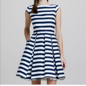 Kate Spade blue Mariella stripe causal dress